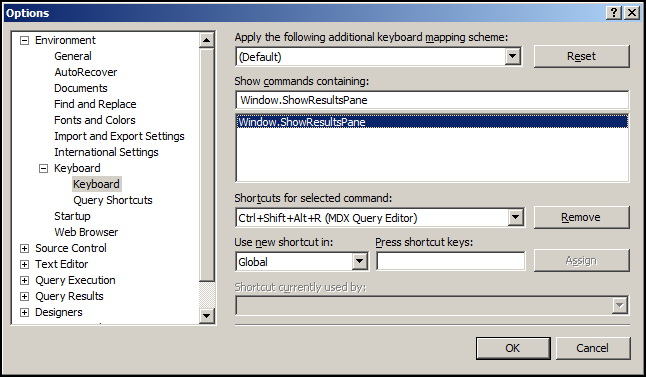 how to open sql server management studio from run
