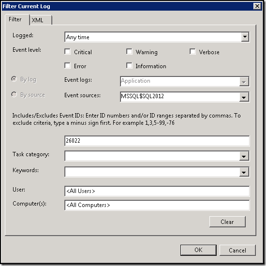 SQL Server – Finding TCP Port Number SQL Instance is